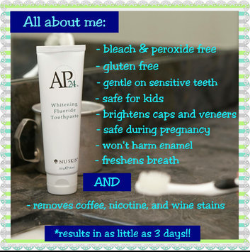 AP-24 Whitening Fluoride Toothpaste uploaded by Sabrina J.