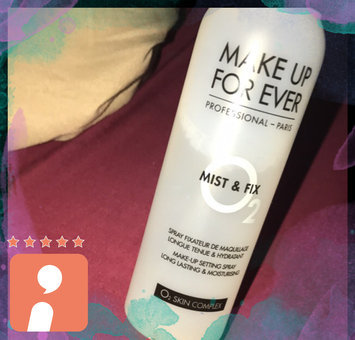 MAKE UP FOR EVER Mist & Fix Setting Spray uploaded by blanca e.