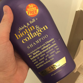 Photo of OGX® Biotin & Collagen Shampoo uploaded by Katy M.