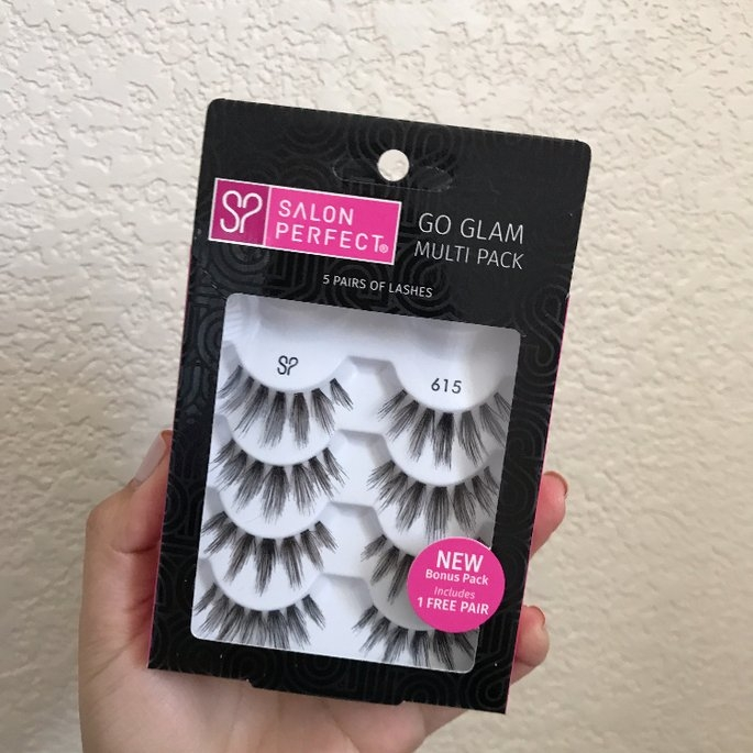 Salon Perfect Perfectly Natural Multi Pack Eyelashes, 615 Black, 4 pr uploaded by crmn m.