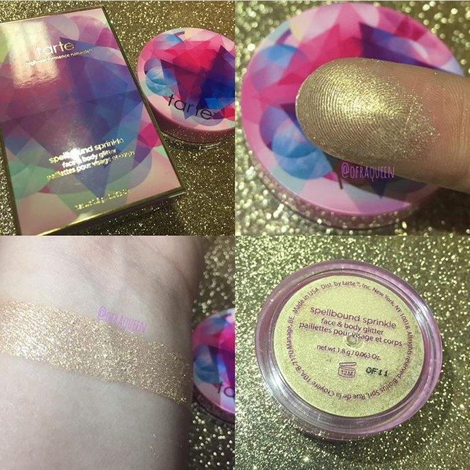 tarte Make Believe In Yourself: Spellbound Sprinkle Face & Body Glitter uploaded by Delia K.