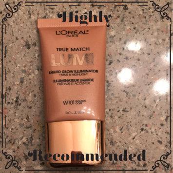 Photo of L'Oréal® Paris True Match Lumi Liquid Glow Illuminator W101 Golden Tube uploaded by Jessie B.