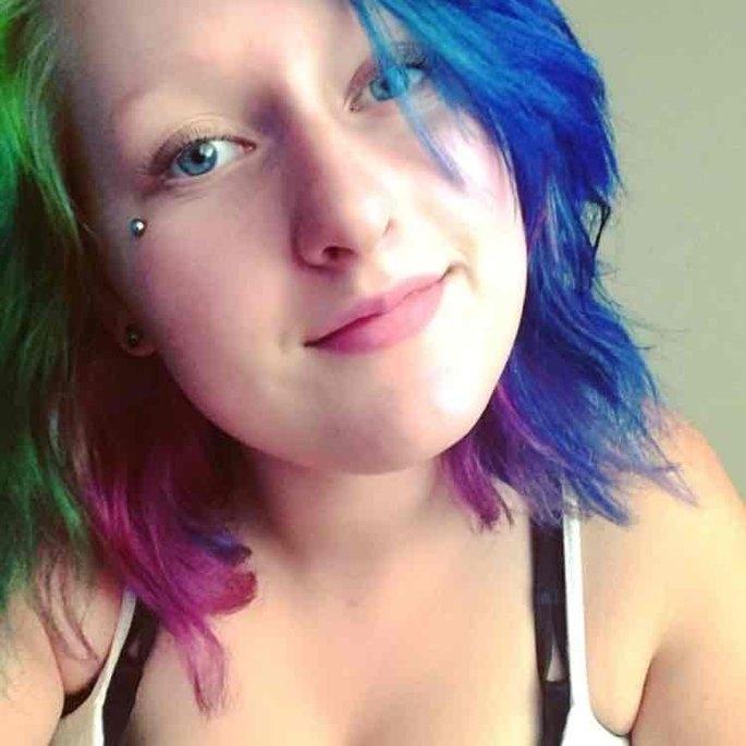 Manic Panic Amplified Hair Dye - Rockabilly Blue uploaded by Kayla D.