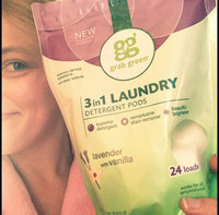 GrabGreen Lavender with Vanilla 3-in-1 Laundry Detergent Pods, 15.2 oz, (Pack of 6) uploaded by Angel A.
