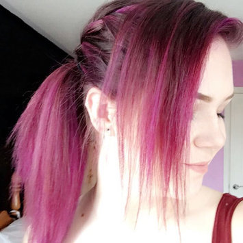 Photo of Ion Color Brilliance Semi Permanent Neon Brights Hair Color Radiant Orchid uploaded by Mercedes🤘🏻 A.
