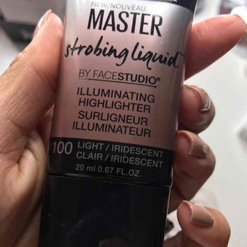 Maybelline New York FaceStudio Master Strobing Liquid Illuminating Highlighter 100 Light/Iridescent 0.67 fl. oz. Tube uploaded by Patricia G.