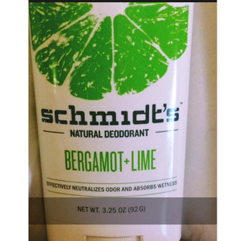 Schmidt's Bergamot + Lime Natural Deodorant uploaded by Beth Ann B.