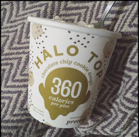 Halo Top Chocolate Chip Cookie Dough Ice Cream uploaded by Lianna B.