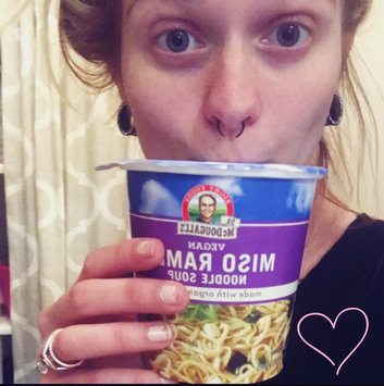 Photo of Dr. McDougall's Vegan Noodle Soup Miso Ramen uploaded by Taylor A.