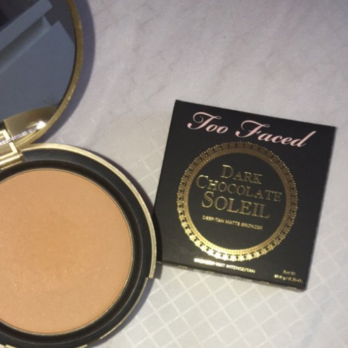 Too Faced Chocolate Soleil Bronzing Powder uploaded by Abby N.