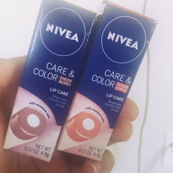Photo of NIVEA Care & Color Lip Care uploaded by Korey P.