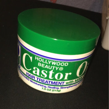 Photo of Hollywood Beauty Castor Oil Hair Treatment 7.5 oz uploaded by Julissa C.