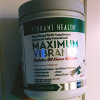 Vibrant Health Maximum Vibrance All in One Multivitamin, 21.81 oz uploaded by Marlene G.