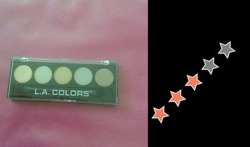 L.A. Colors 5 Color Metallic Eyeshadow, Tea Time, .26 oz uploaded by Guadalupe L.