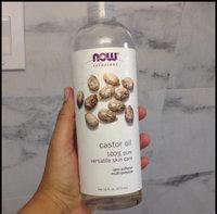 NOW Foods Solutions Castor Oil - 16 fl oz uploaded by Estefany R.