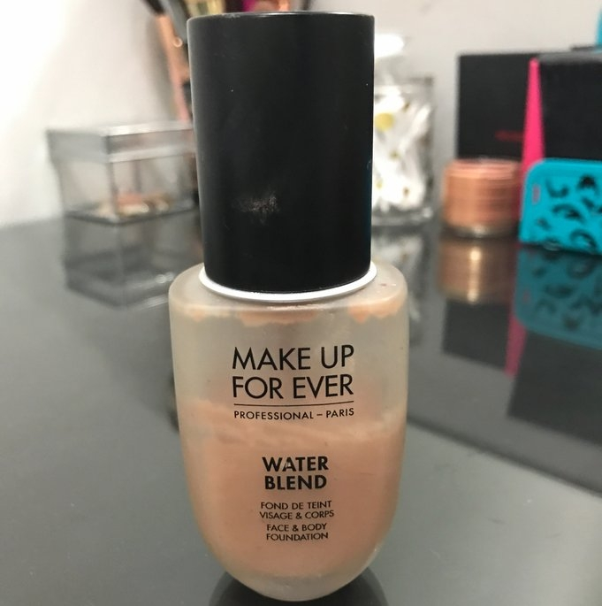 MAKE UP FOR EVER Water Blend Face & Body Foundation uploaded by Arianna D.
