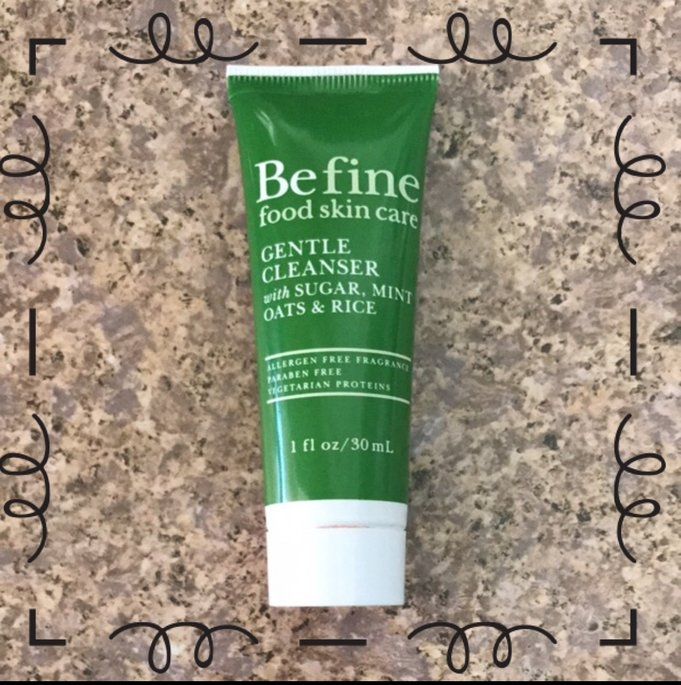 Be Fine Gentle Cleanser: Sugar, Mint, Oats and Rice uploaded by Raquel V.