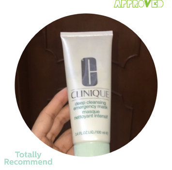 Photo of Clinique Deep Cleansing Emergency Mask 3.4oz / 100ml uploaded by Laura A.