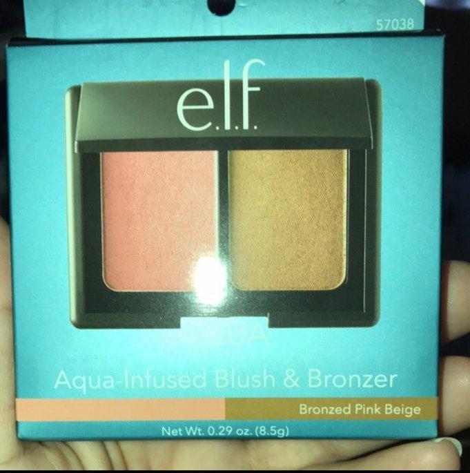 e.l.f. Bronzer Blush Medium Multi-color .29 oz, Bronzed Pink Beige uploaded by Agripina H.