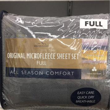 Berkshire Original Microfleece™ Full Sheet Set in Grey uploaded by Kaila L.