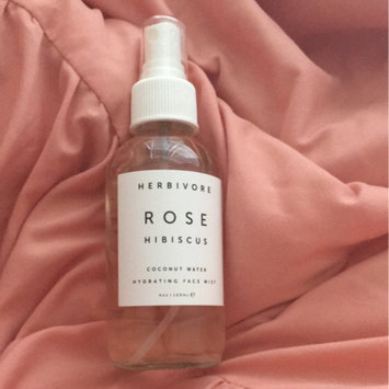 Photo of Herbivore Rose Hibiscus Coconut Water Hydrating Face Mist 4 oz uploaded by Stephanie G.