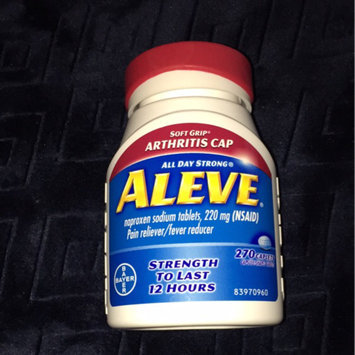 Aleve Tablets with Easy Open Arthritis Cap uploaded by Gemini M.