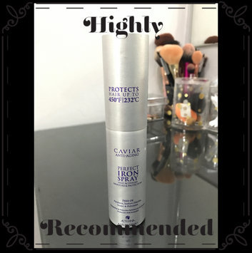 Photo of Alterna Caviar Perfect Iron Spray-4.1 oz. uploaded by Arianna D.