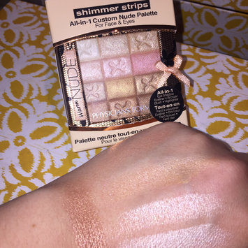 Photo of Physicians Formula Shimmer Strips All-in-1 Custom Nude Palette For Face & Eyes uploaded by Tina P.
