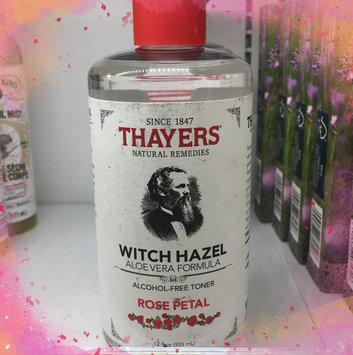 Thayers Alcohol-Free Rose Petal Witch Hazel Toner uploaded by Sondra V.