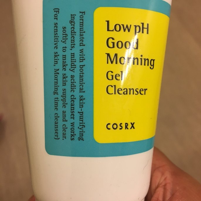 Cosrx Low pH Good Morning Gel Cleanser uploaded by Jessica M.