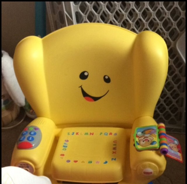 Fisher Price Fisher-Price Laugh and Learn Smart Stages Chair uploaded by Stephanie F.