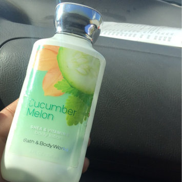 Photo of Bath & Body Works Signature Collection Cucumber Melon Body Lotion uploaded by Kadeeyah R.