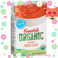 Campbell's® Organic Sun-Ripened Tomato & Basil Bisque uploaded by Nikki W.