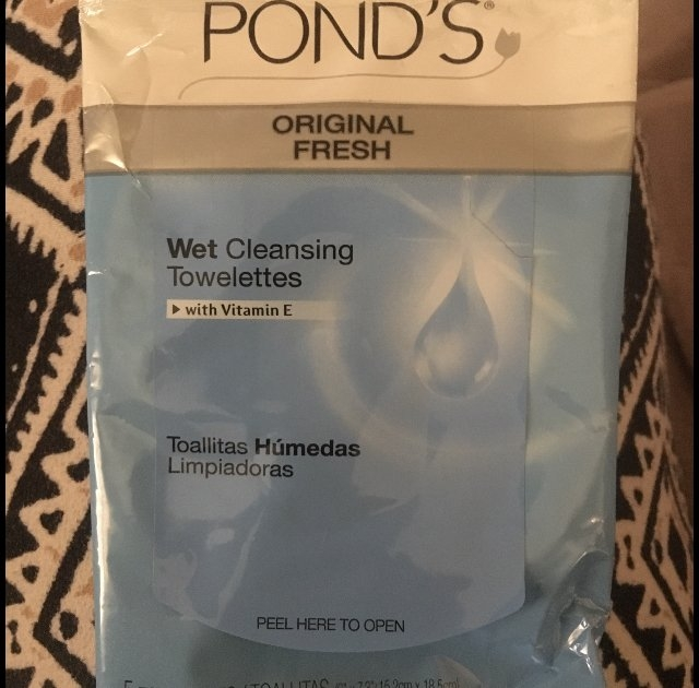 Pond's Exfoliating Renewal Wet Cleansing Towelettes 30 ct uploaded by Brandy D.