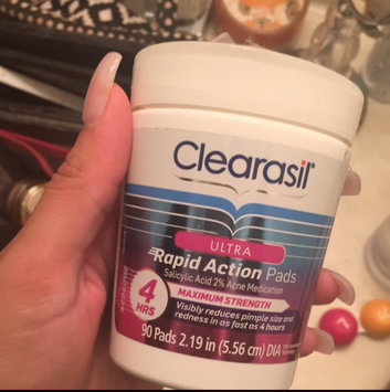 Photo of CLEARASIL® Rapid Rescue Deep Treatment Pads uploaded by Karina P.