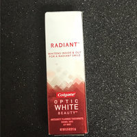 Colgate® OPTIC WHITE® PLATINUM WHITE & RADIANT Toothpaste Crystal Mint uploaded by Rose P.