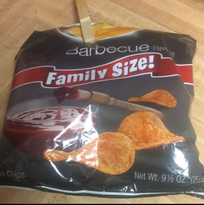 Lay's® Barbecue Flavored Potato Chips uploaded by Teran F.