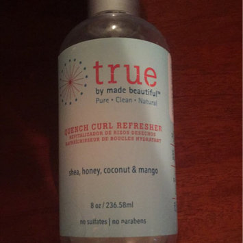 true by made beautiful Quench Curl Refresher - 8oz uploaded by Lismary E.