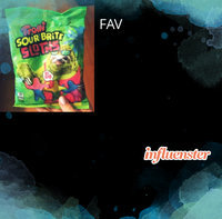 Trolli Sour Brite Sloths uploaded by Tayyibah H.