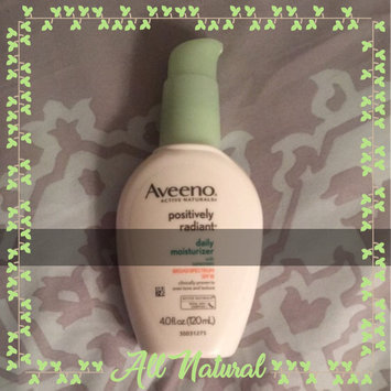 Photo of Aveeno® Positively Radiant Daily Moisturizer SPF 15 uploaded by Sarah N.