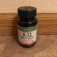 Nature's Bounty Methylcobalamin Vitamin B-12 1000 mcg 60 ea uploaded by Miranda F.