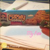 Quaker Life® Chewy Yogurt Strawberry Granola Bar uploaded by Heather H.