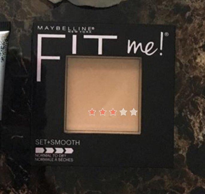 Maybelline Fit Me! Set + Smooth Pressed Powder uploaded by Daren I.