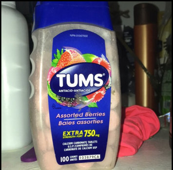 Tums Extra Strength, Assorted Berries - 750 mg, 100 Chewables uploaded by Rania Z.