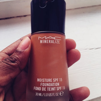 Photo of MAC Mineralize Moisture SPF 15 Foundation, NC37 uploaded by Haawa O.
