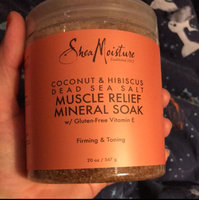 SheaMoisture Coconut & Hibiscus Dead Sea Salt Muscle Relief Mineral Soak uploaded by Agripina H.