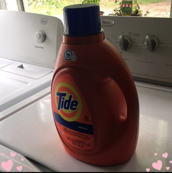 Photo of Tide Original Scent HE Turbo Clean Liquid Laundry Detergent uploaded by Evelyn W.