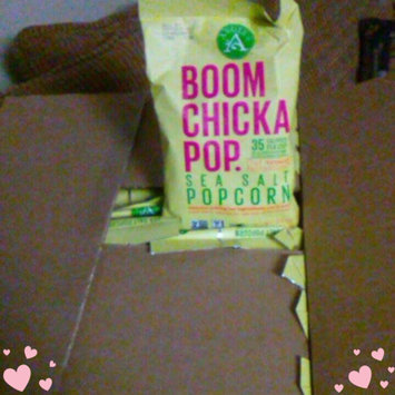 Angie's® Boom Chicka Pop® Sea Salt Popcorn uploaded by Abigail R.