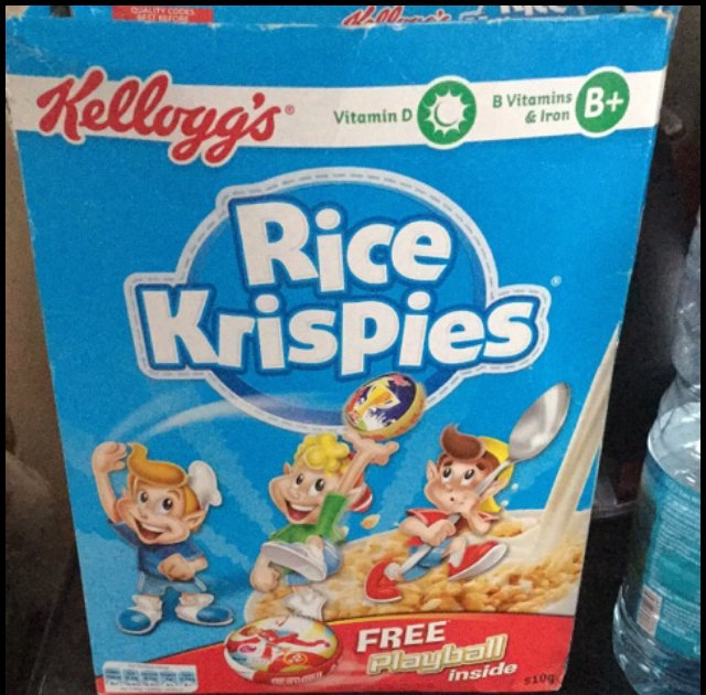 Kellogg's Rice Krispies Cereal uploaded by Hilary I.