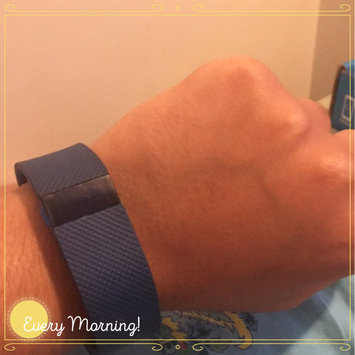 Photo of Fitbit Charge HR Activity and Heart Rate Tracker (Small)- Blue uploaded by Yshaddel P.